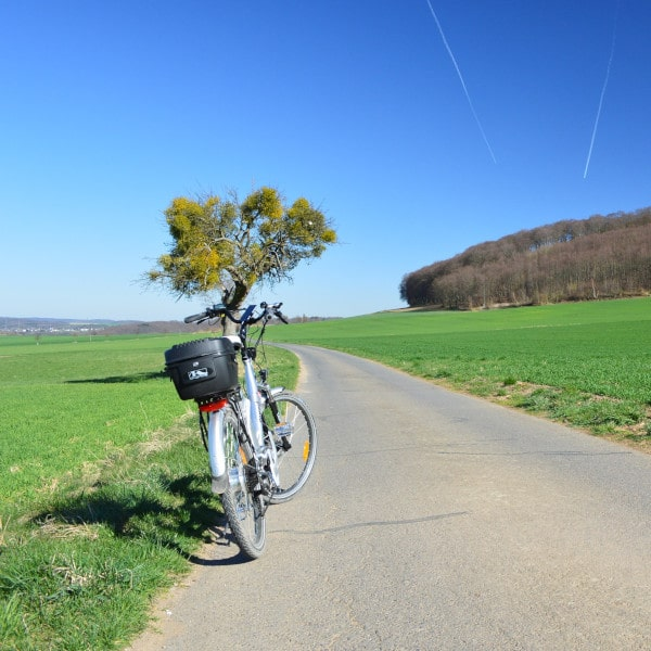 ebike on country road