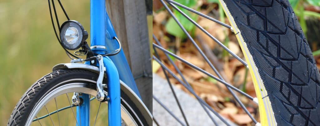 different ebike tires